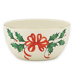 Lenox® Holiday™ Ribbon Bowl in Ivory