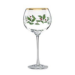 Lenox® Holiday™ Balloon Wine Glasses (Set of 4)