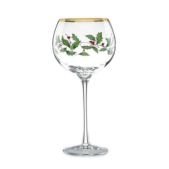 Alternate image 1 for Lenox® Holiday™ Balloon Wine Glasses (Set of 4)