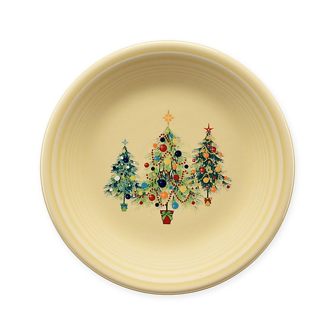 Alternate image 1 for Fiesta® Christmas Tree Trio Salad Plate