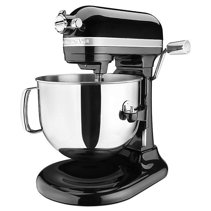 Alternate image 1 for KitchenAid® Pro Line® 7 qt. Bowl-Lift Stand Mixer in Black