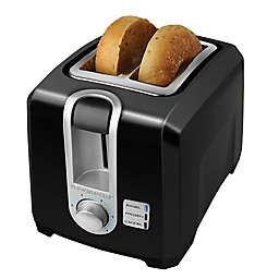 Black & Decker™ 2-Slice Toaster in Black