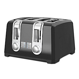 Black & Decker™ 4-Slice Toaster in Black