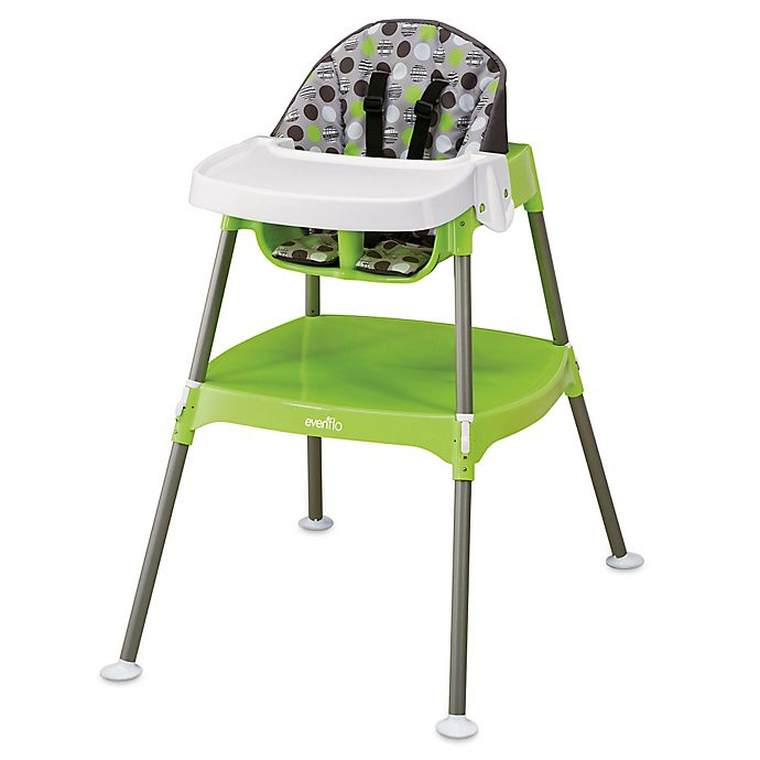 8f7010cbb33 Evenflo® Convertible 3-in-1 High Chair in Dottie Lime