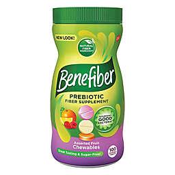 Benefiber® 100-Count Prebiotic Fiber Supplement Chewables in Assorted Fruit