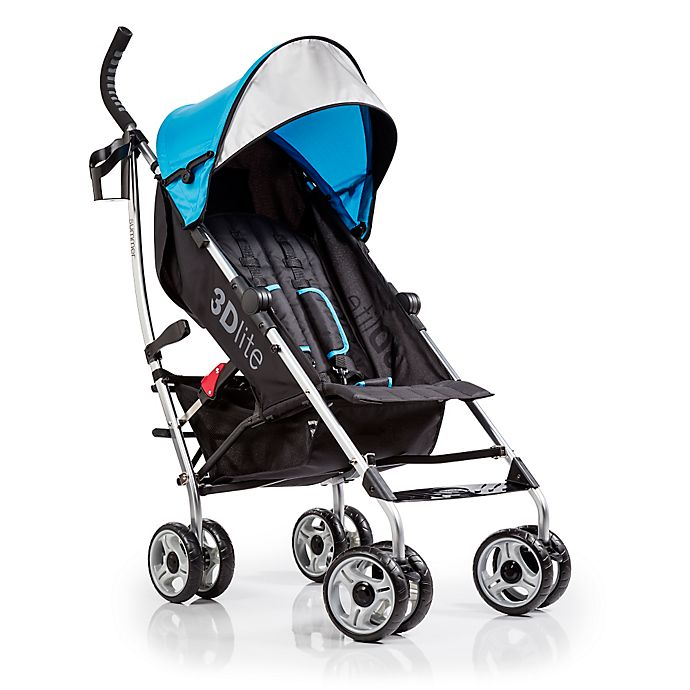 Alternate image 1 for Summer Infant® 3D lite™ Convenience Stroller in Caribbean Blue