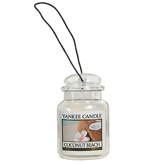 Alternate image 1 for Yankee Candle® Car Jar® Ultimates Coconut Beach Air Freshener