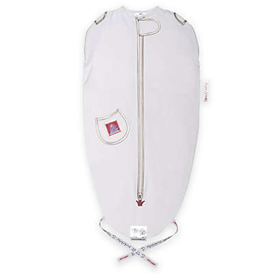Puckababy® The Original Mini® Size 3-6M Swaddle Sleeping Sack in White Tencel® Lyocell