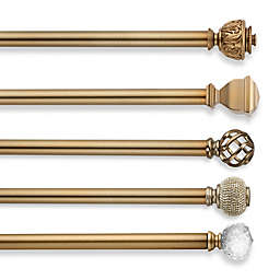 Cambria® Premier Complete Decorative Window Hardware in Warm Gold