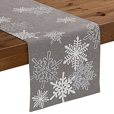 Sam Hedaya Bowery Snowflake Table Runner