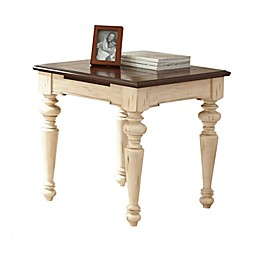 Steve Silver Co. Wesley Wood End Table in White Walnut