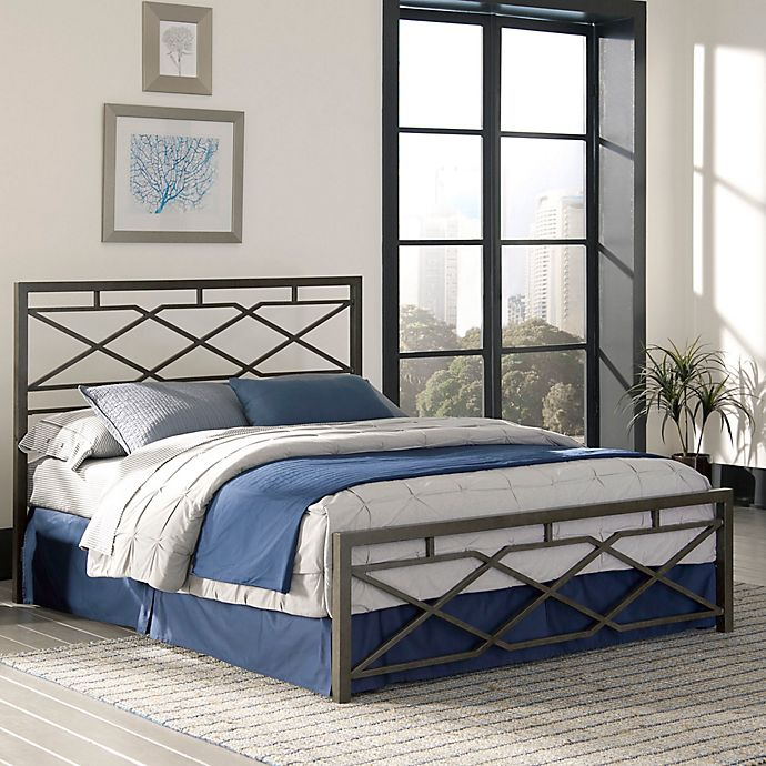 Alternate image 1 for Fashion Bed Group Alpine Bed in Rustic Pewter