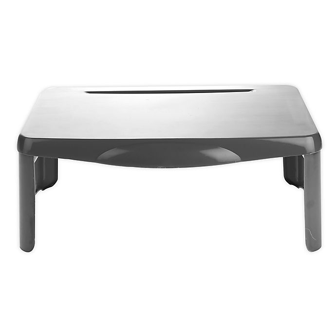 Alternate image 1 for Mind Reader Folding Portable Lap Desk in Grey