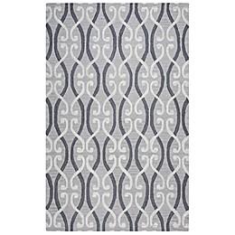 Rizzy Home Loureli Area Rug in Grey