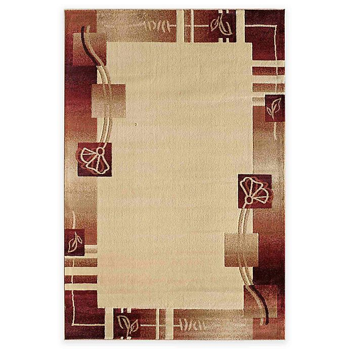 Alternate image 1 for Rugs America Capri Adonis 5-Foot 3-Inch x 7-Foot 10-Inch Area Rug in Beige