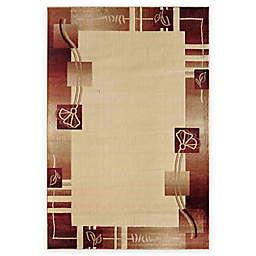 Rugs America Capri Adonis 7-Foot 10-Inch x 10-Foot 10-Inch Area Rug in Beige