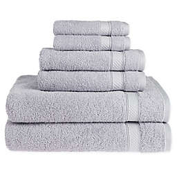 Nestwell™Hygro Cotton Solid 6-Piece Towel Set in Chrome
