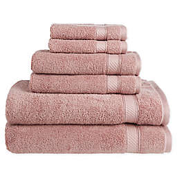 Nestwell™Hygro Cotton Solid 6-Piece Towel Set in Fawn