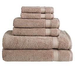 Nestwell™Hygro Cotton Solid 6-Piece Towel Set