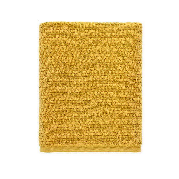 Alternate image 1 for Wild Sage™ Savannah Quick Dry Solid Bath Towel in Yolk Yellow