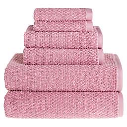 Wild Sage™ Savannah Cotton 6-Piece Towel Set in Mauve