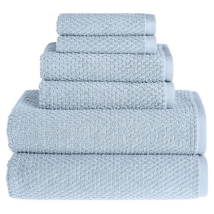 Alternate image 1 for Wild Sage™ Savannah Cotton 6-Piece Towel Set