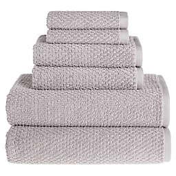 Wild Sage™ Savannah Cotton 6-Piece Towel Set in Lunar Rock