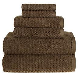 Wild Sage™ Savannah Cotton 6-Piece Towel Set in Dark Green