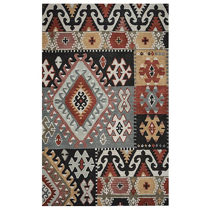 Alternate image 1 for Rizzy Home Southwest Patch 8-Foot x 10-Foot Multicolor Area Rug