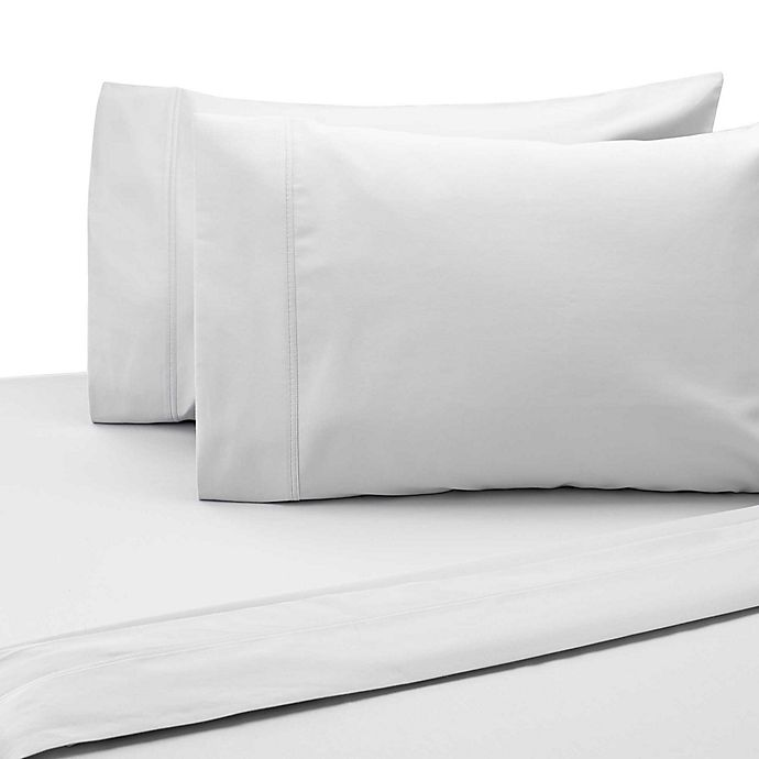 Alternate image 1 for SALT™ 300-Thread-Count Cotton Sateen King Sheet Set in White