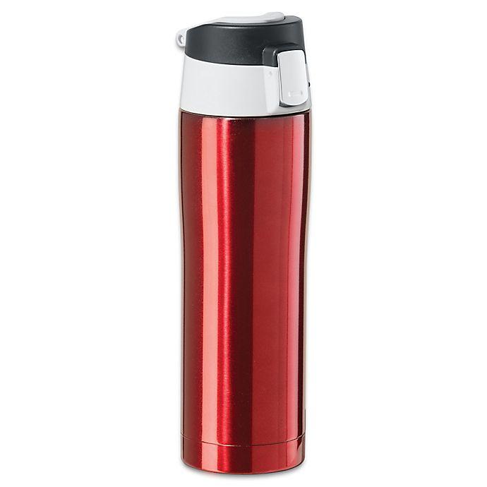 5477368d61f Oggi® 16 fl. oz. Stainless Steel Travel Flask | Bed Bath & Beyond