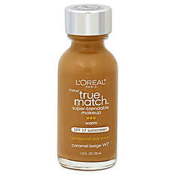 L'Oréal® True Match 1 oz. Super-Blendable Liquid Makeup Caramel Beige W7