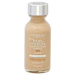 L'Oréal® True Match 1 oz. Super-Blendable Liquid Makeup Soft Ivory N1