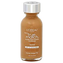 L'Oréal® True Match 1 oz. Super-Blendable Liquid Makeup Honey Beige N6