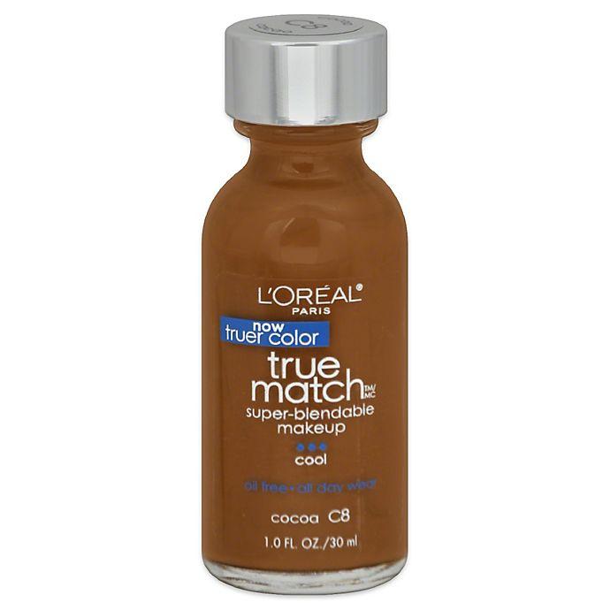 Alternate image 1 for L'Oréal® True Match 1 oz. Super-Blendable Liquid Makeup Cocoa