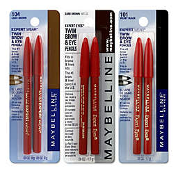 Maybelline® Expert Wear® Twin Brow & Eye Pencil Collection