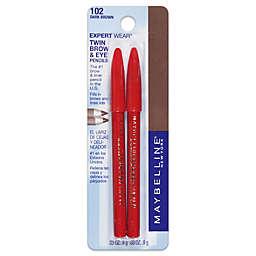Maybelline® Expert Wear® Twin Brow & Eye Pencils in Dark Brown