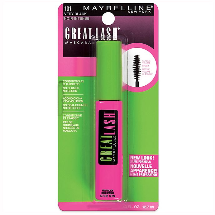 Alternate image 1 for Maybelline® Great Lash Mascara in Very Black