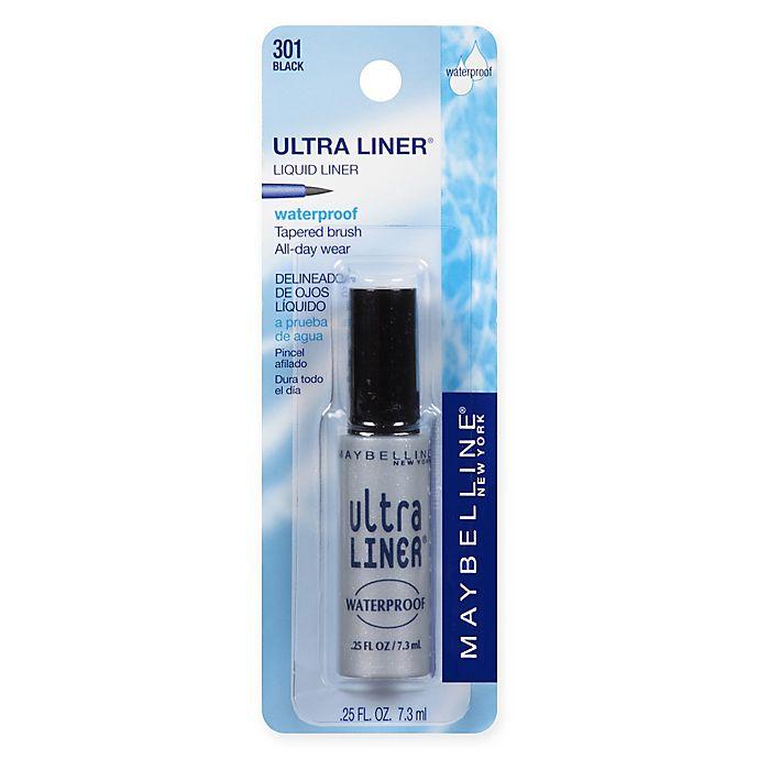 Alternate image 1 for Maybelline® Ultra Liner® Waterproof Liquid Eyeliner in Black