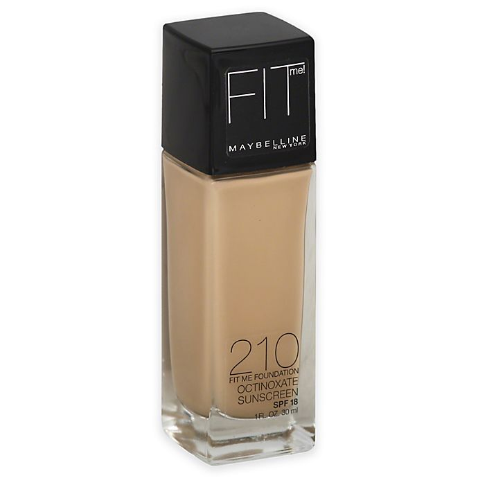 Alternate image 1 for Maybelline® Fit Me® Dewy + Smooth Foundation in Sandy Beige