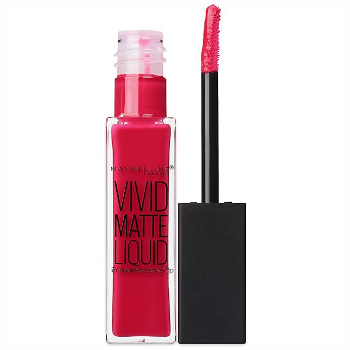 0d02974b96 Maybelline® Color Sensational® Vivid Matte Liquid™ Lip Color in Fuchsia  Ecstasy