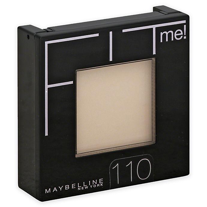 Alternate image 1 for Maybelline® Fit Me!® .3 oz. Pressed Powder in Porcelain