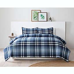 Pendleton® Bayfield 3-Piece Reversible Comforter Set in Blue