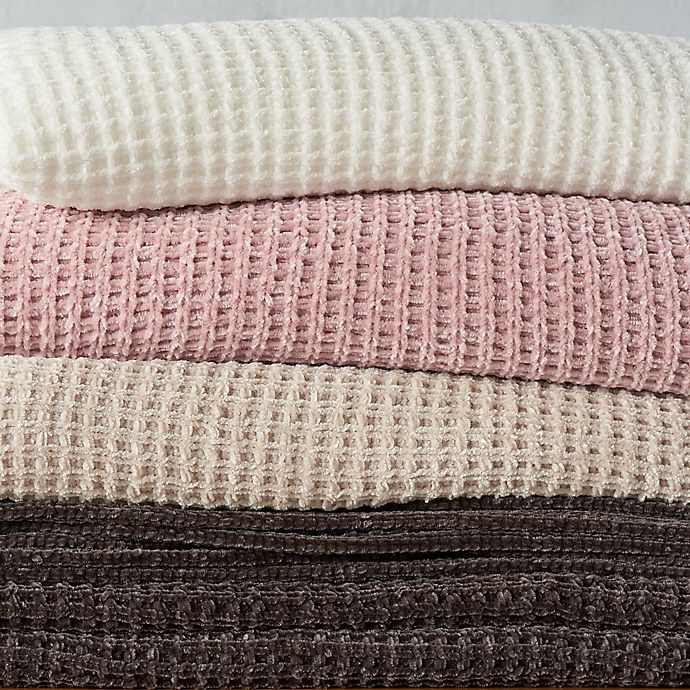 Alternate image 1 for UGG® Delaney Chenille Reversible Blanket