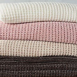UGG® Delaney Chenille Reversible Twin Blanket in Snow