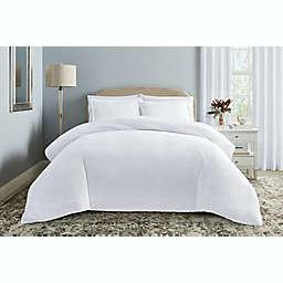 Wamsutta® Montville 3-Piece Full/Queen Comforter Set in Bright White