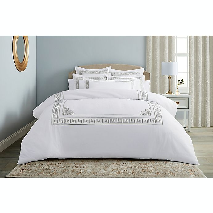 Alternate image 1 for Wamsutta® Sheffield 3-Piece Duvet Cover Set