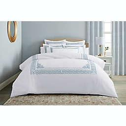 Wamsutta® Sheffield 3-Piece Full/Queen Duvet Cover Set in Celestial Blue