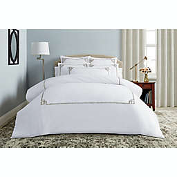 Wamsutta® Whitham 3-Piece Full/Queen Comforter Set in Champagne