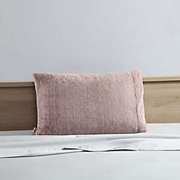 UGG® Polar Faux Fur Standard/Queen Pillowcase in Cabernet